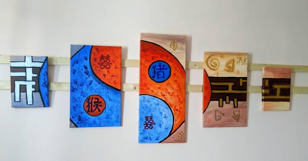 Poza yin-yang