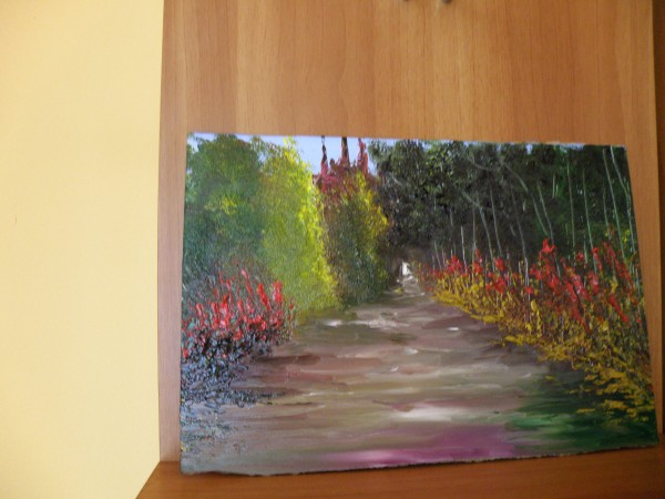 Picturi cu peisaje Pe drum