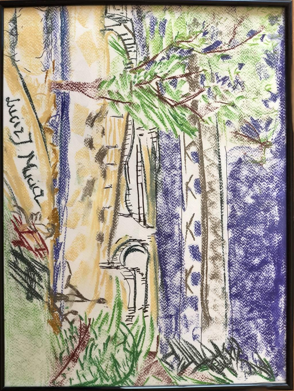 Tablou pe watercolor