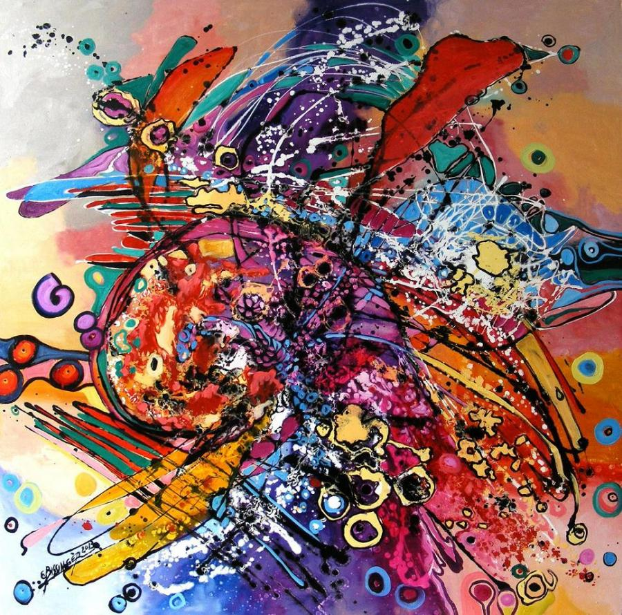 Picturi abstracte/ moderne oktoberfest