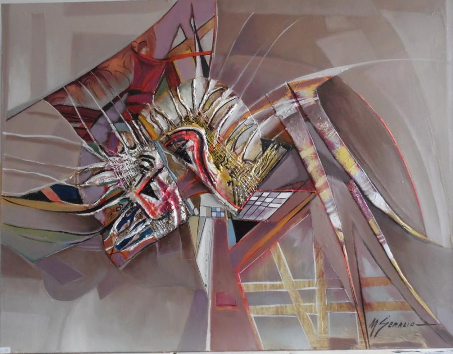 Picturi abstracte/ moderne poarta stelara--a01