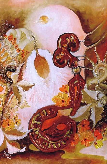 Picturi abstracte/ moderne Talismanul cu noroc