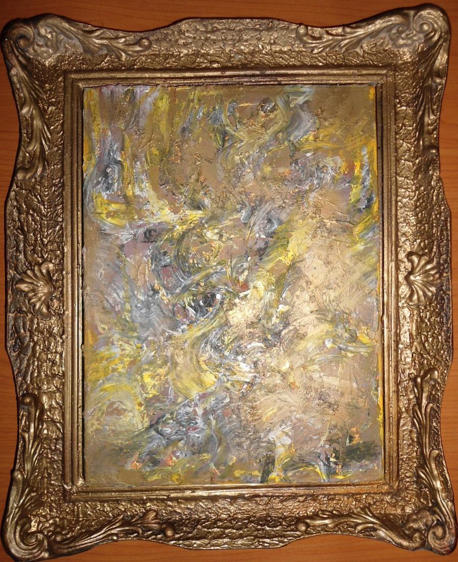 Picturi abstracte/ moderne Egoism