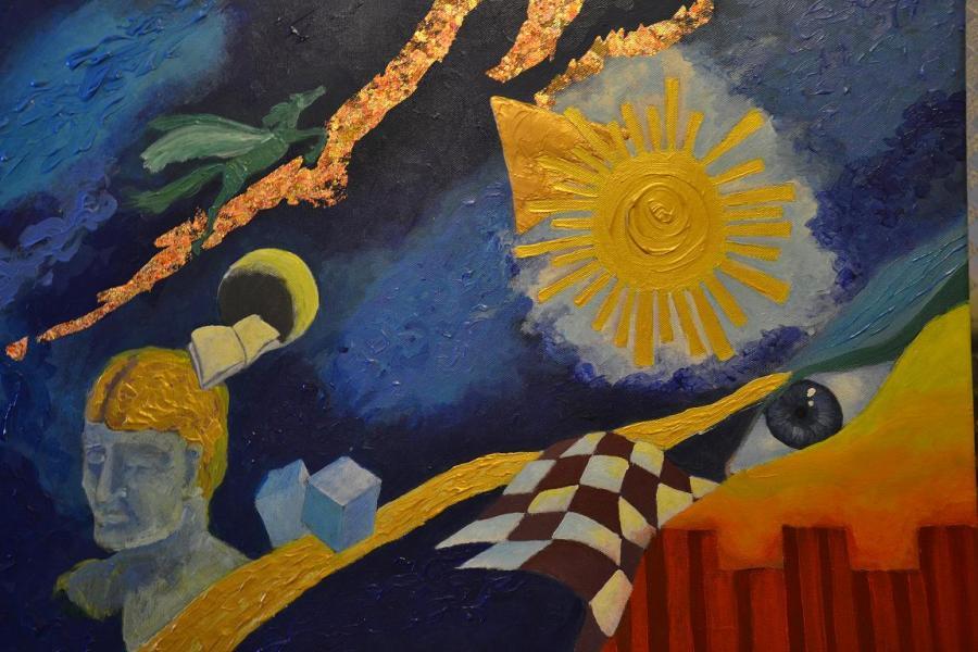Picturi abstracte/ moderne Calea Cailor Verzi