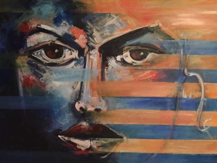 Picturi abstracte/ moderne Doar ea...
