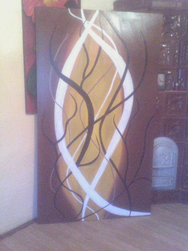 Picturi abstracte/ moderne JOCURII DE LINI
