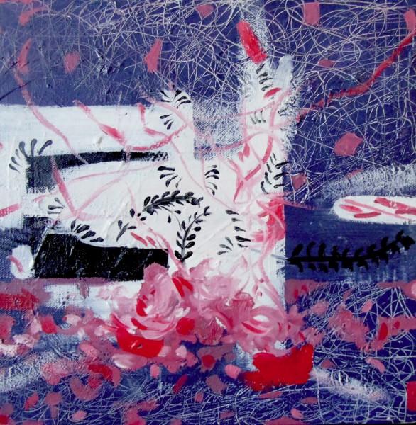 Picturi abstracte/ moderne Vant de vara