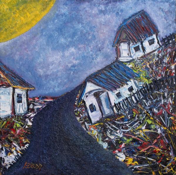 Picturi abstracte/ moderne Drumuri de munte