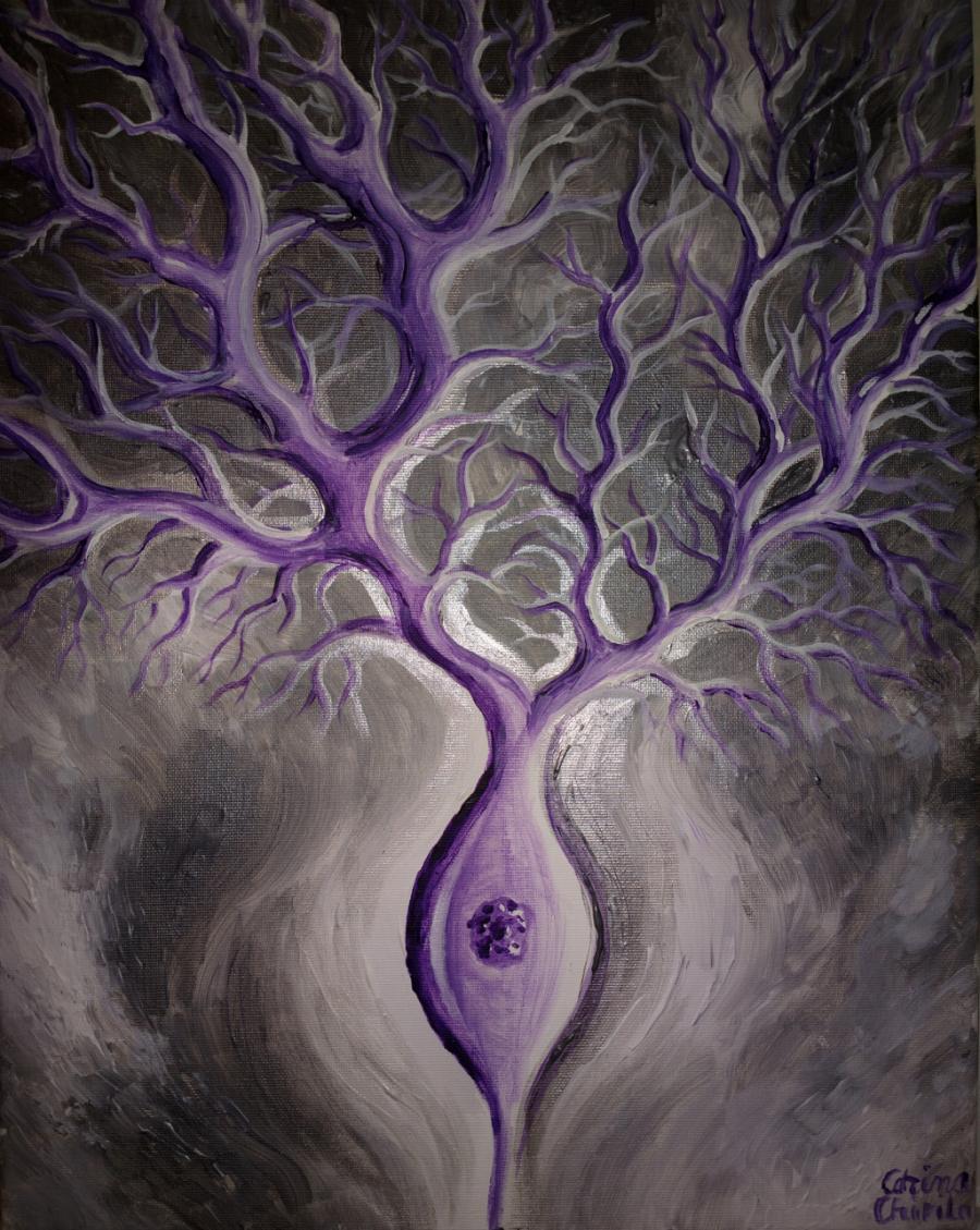 Picturi abstracte/ moderne Neuron Purkinje