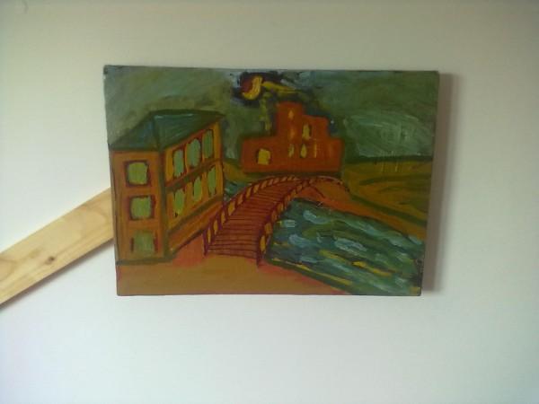 Picturi abstracte/ moderne Puntea destinului