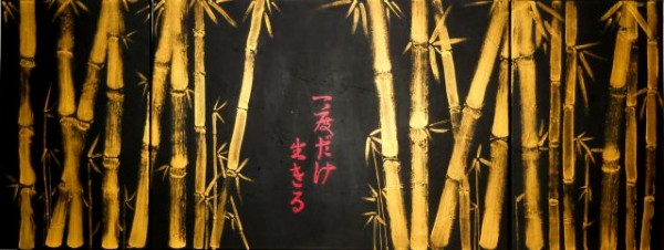 Picturi abstracte/ moderne Carpe diem - ima wo ikiru