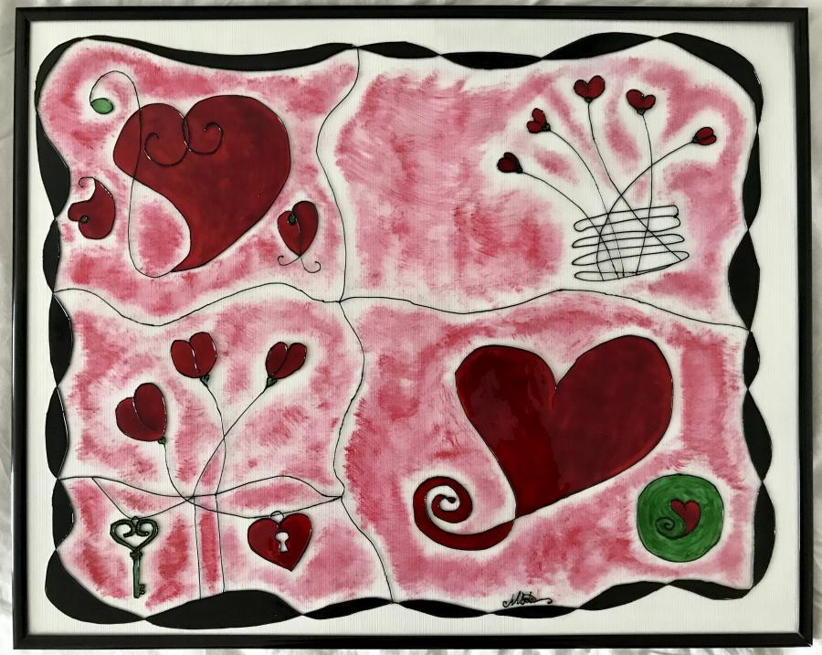 Picturi abstracte/ moderne ...despre iubire