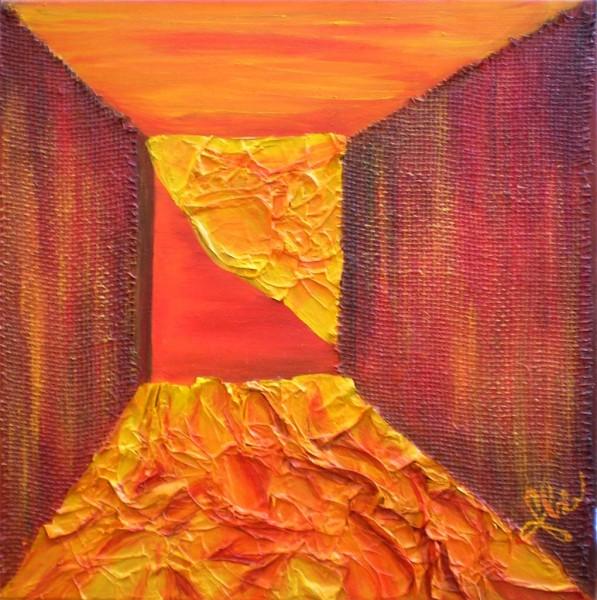 Picturi abstracte/ moderne Culoar spre dragoste