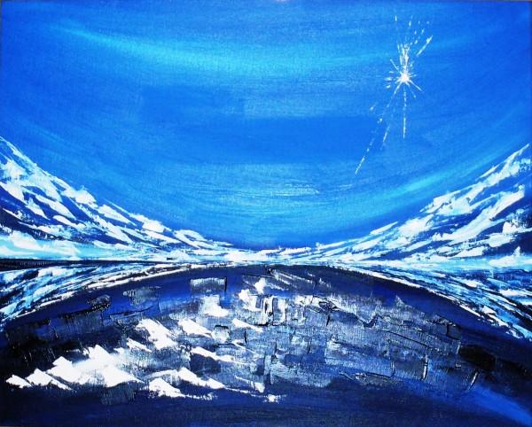 Picturi abstracte/ moderne Amintirea drumului