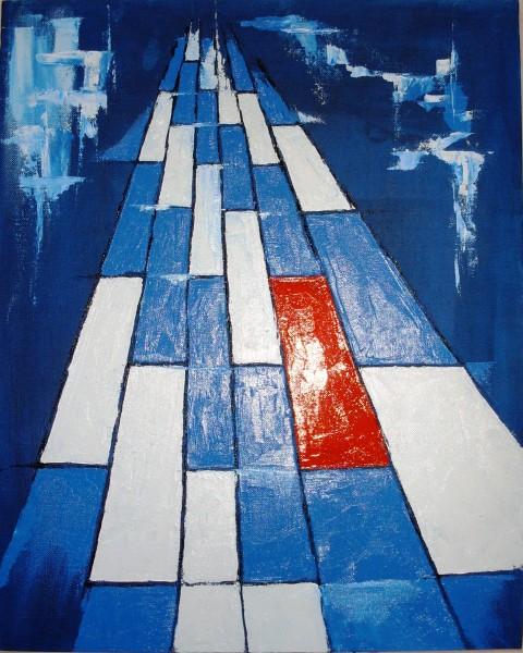 Picturi abstracte/ moderne Drumul