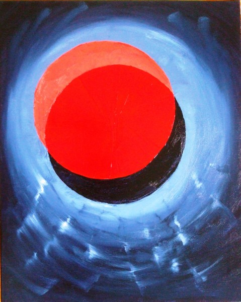 Picturi abstracte/ moderne Eclipsa