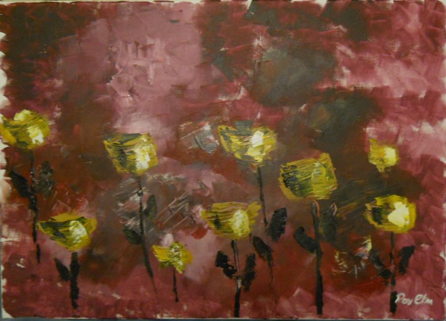 Picturi abstracte/ moderne Flori2