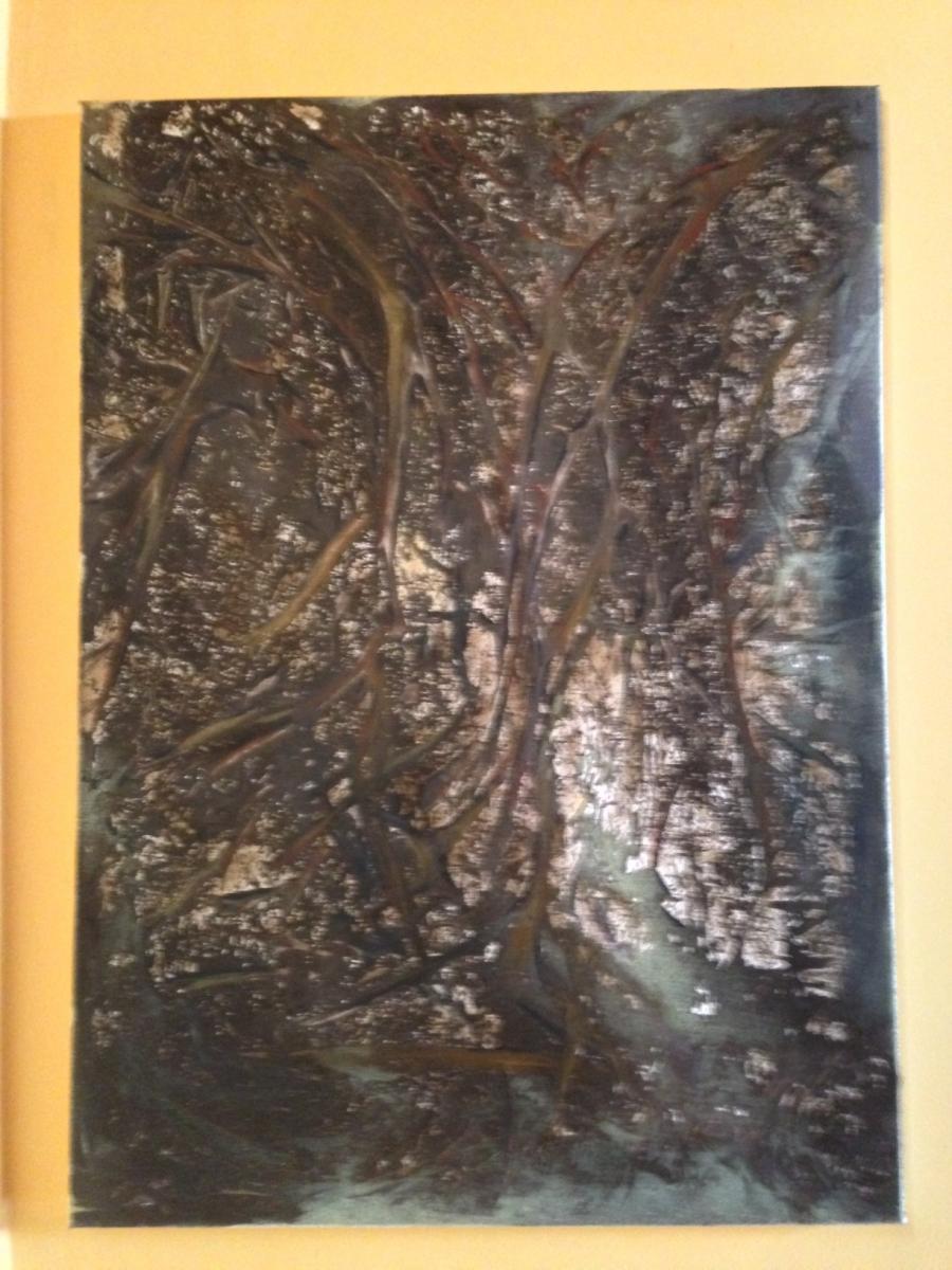 Picturi abstracte/ moderne Padure
