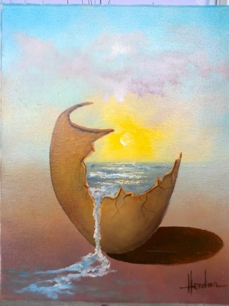 Picturi abstracte/ moderne Amfora