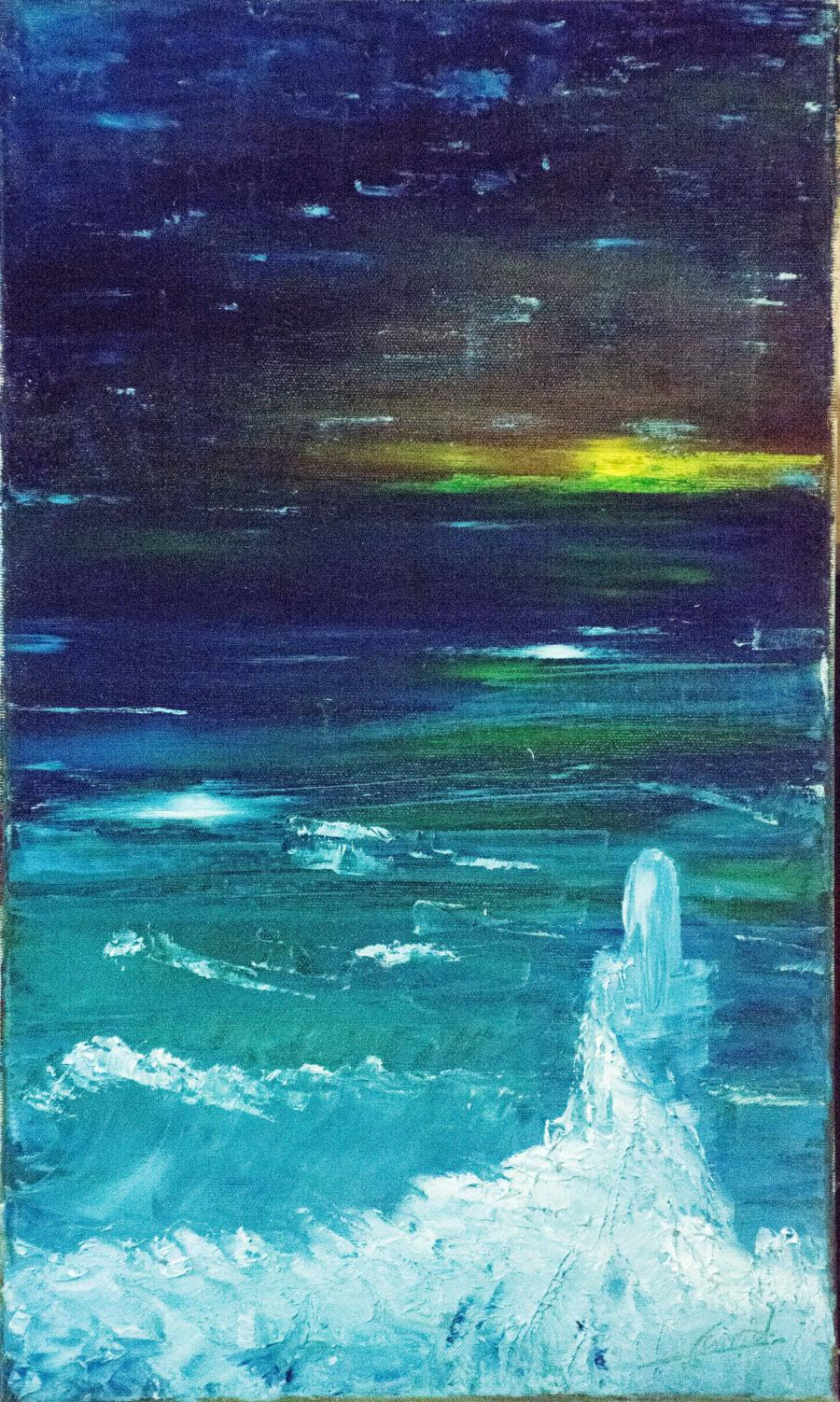 Picturi abstracte/ moderne regina valurilor