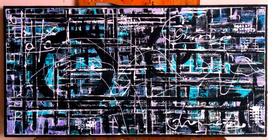 Picturi abstracte/ moderne Road To Success