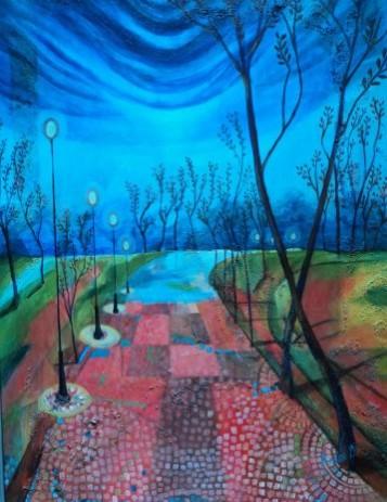 Picturi abstracte/ moderne Alee de vis