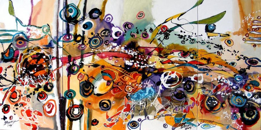 Picturi abstracte/ moderne Aleea ursitoarelor