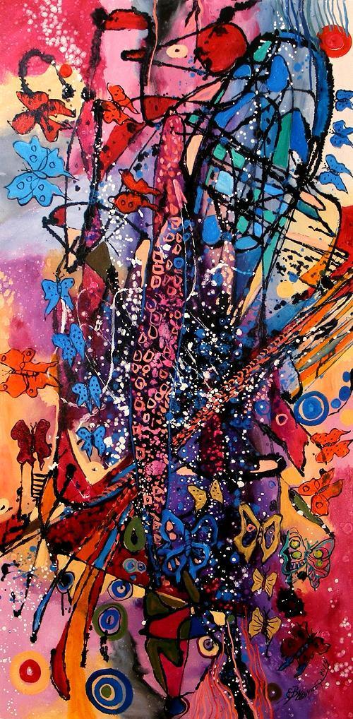 Picturi abstracte/ moderne Coconul