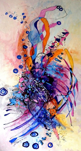 Picturi abstracte/ moderne Cupidon day