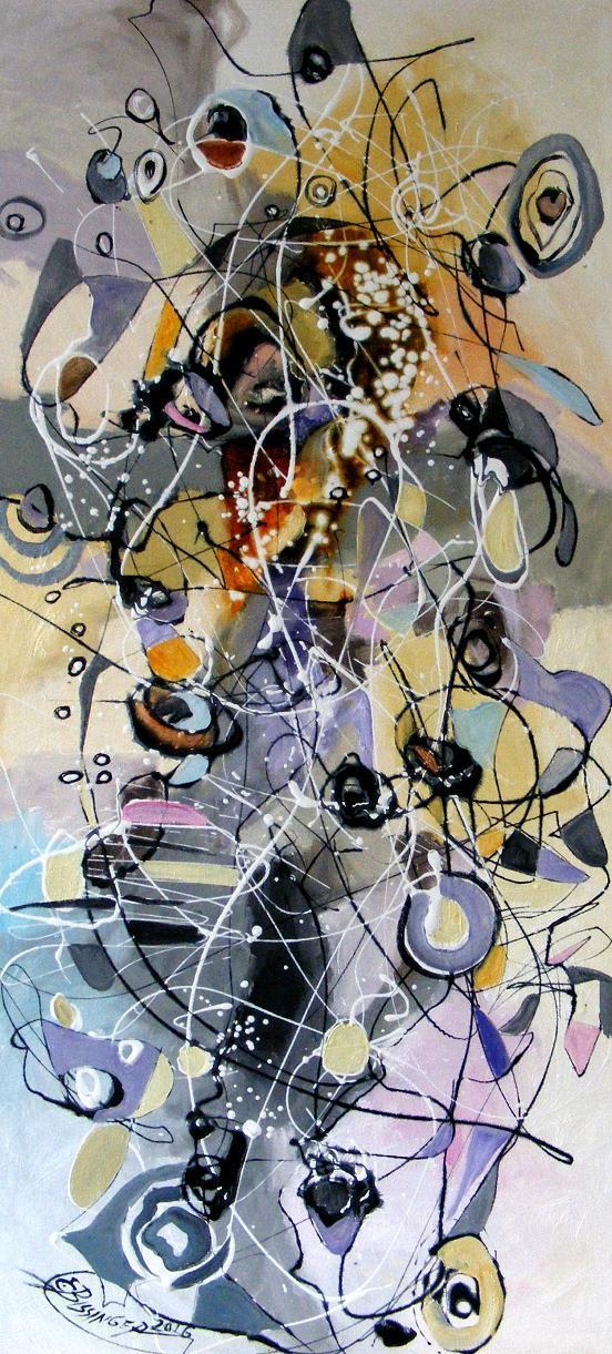 Picturi abstracte/ moderne   Leagan de cuvinte