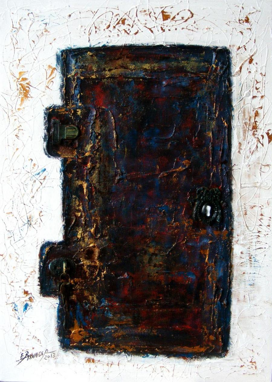 Picturi abstracte/ moderne  poarta raiului