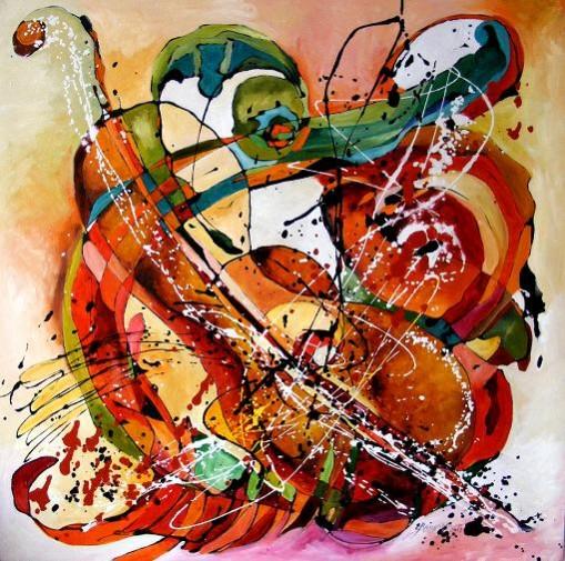 Picturi abstracte/ moderne Povesti cu serenade