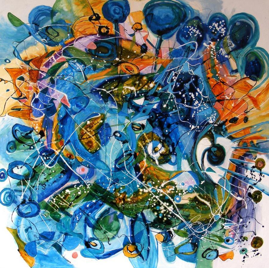 Picturi abstracte/ moderne Radu 2