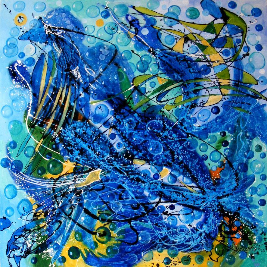 Picturi abstracte/ moderne Sirenele