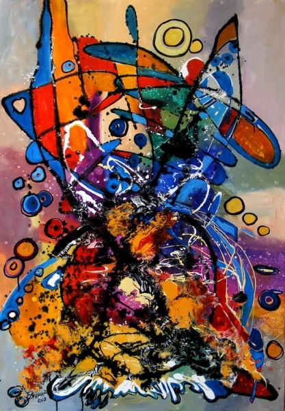 Picturi abstracte/ moderne Urechi pentru iepuras