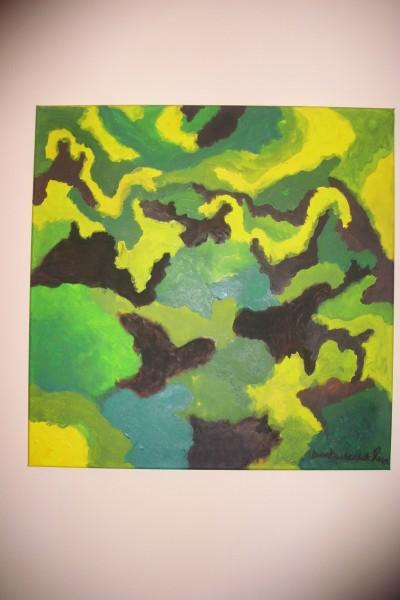 Picturi abstracte/ moderne Culori de toamna