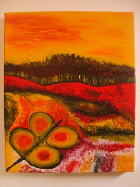 Picturi abstracte/ moderne Apus