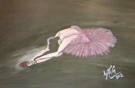Picturi abstracte/ moderne Balerina