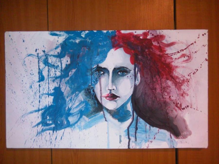 Picturi abstracte/ moderne Meduza
