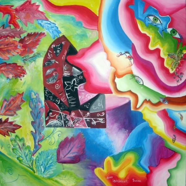 Picturi abstracte/ moderne Poarta catre tablourile mele