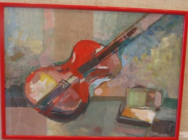 Picturi abstracte/ moderne Rosu2