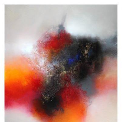 Picturi abstracte/ moderne Rosu purpuriu
