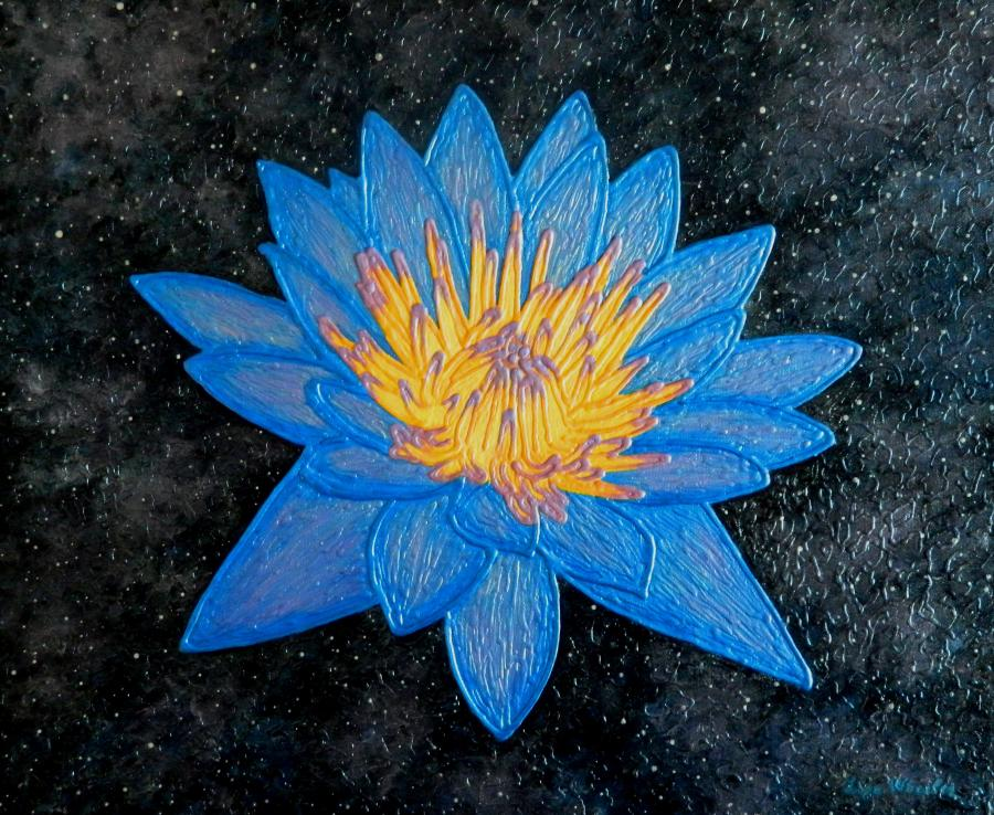 Picturi abstracte/ moderne Lotus Galaxy