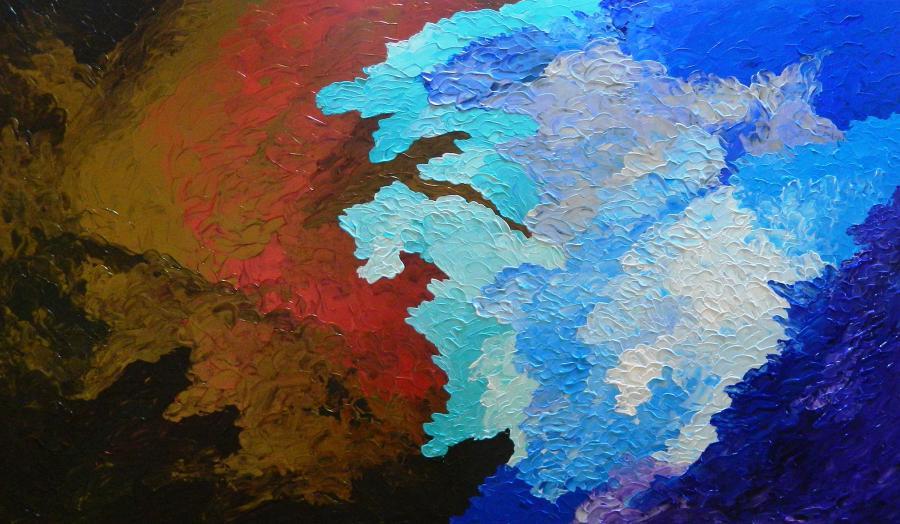 Picturi abstracte/ moderne Rapsodie
