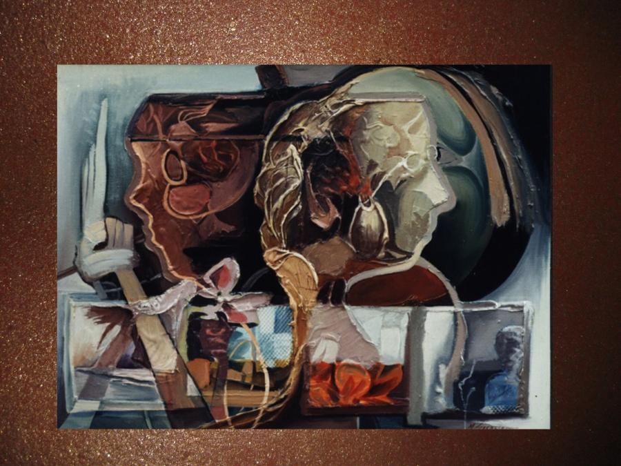 Picturi abstracte/ moderne dedublare in oglinda    ttv5