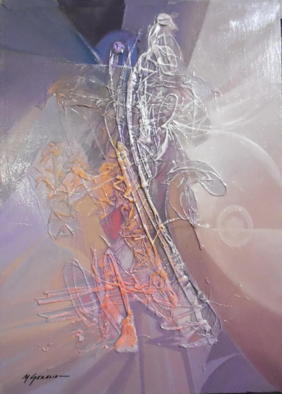 Picturi abstracte/ moderne ei despart timpul in doua--h61