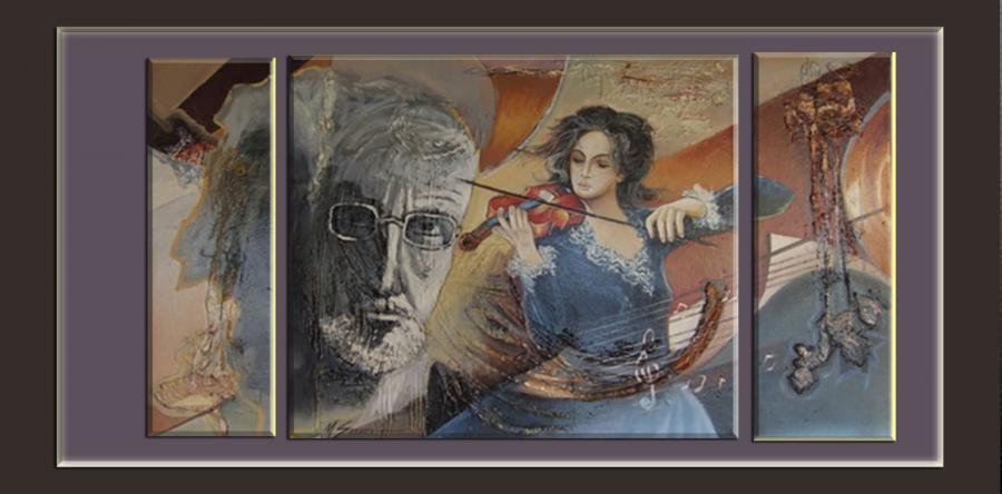 Picturi abstracte/ moderne geniul