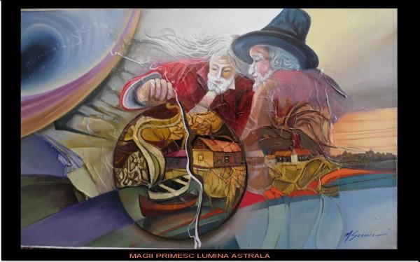 Picturi abstracte/ moderne Magii primesc lumina astrala