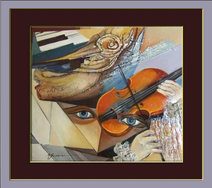 Picturi abstracte/ moderne muzica ancestrala -hh1