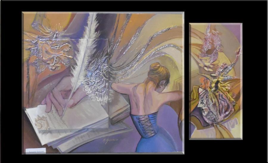 Picturi abstracte/ moderne testamentul fericiri